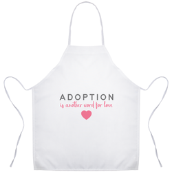 Another Word for Love Apron | Adoption Gifts, Gifts for Women