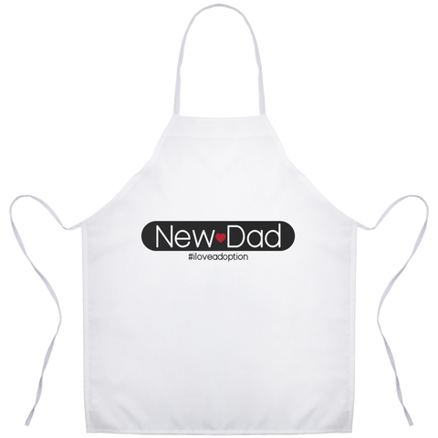 New Dad Apron | Adoption Gifts, Gifts for Men