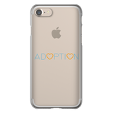 Adoption Orange and Blue Phone Case | Adoption Gifts, Phone Cases