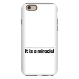 Motherhood Miracle Phone Case | Adoption Gifts, Phone Cases