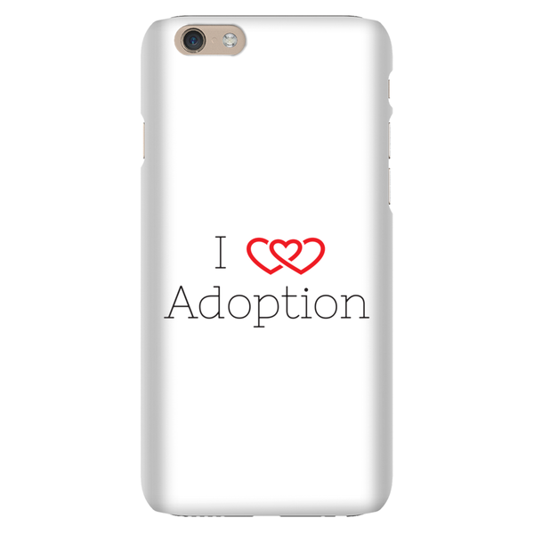 I Heart Adoption Phone Case | Adoption Gifts, Phone Cases