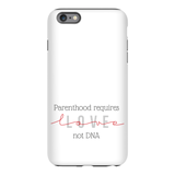Parenthood Requires Love Adoption Phone Case | Adoption Gifts Phone Cases