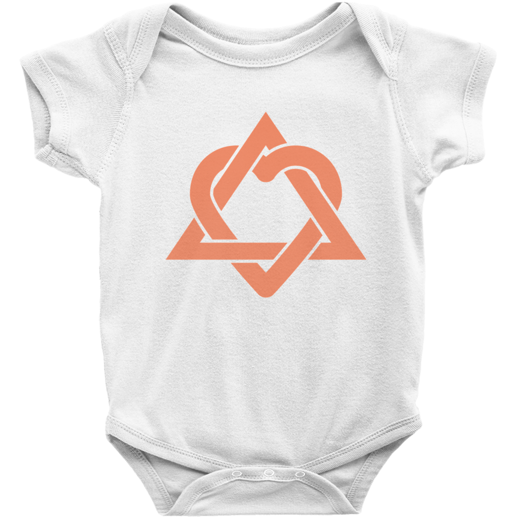 So Relative Unisex Baby My Mom Sends Me Kisses Right Now T-Shirt Romper