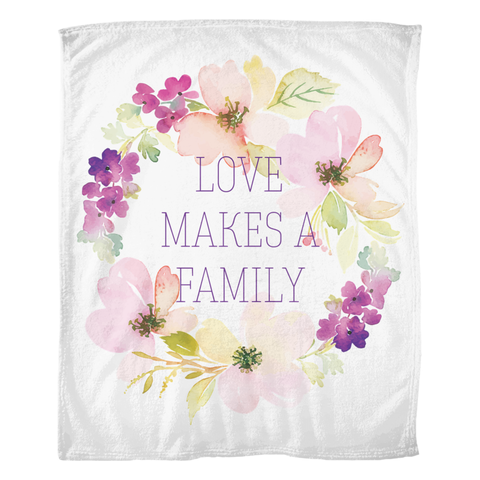 flower adoption blanket