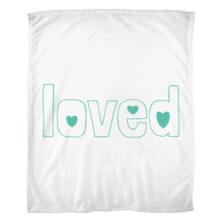 loved adoption blanket