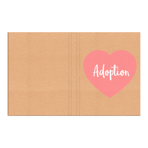 Adoption Pink Heart Journal | Adoption Gifts, Journals
