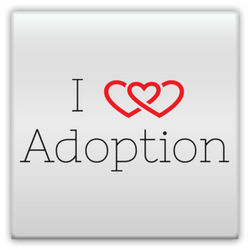 I Heart Adoption Metal Magnet | Adoption Gifts, Metal Magnets