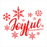 Joy #iloveadoption Mini-Canvas | Adoption Gifts, Canvas Minis