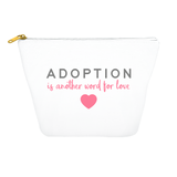 adoption is another word for love tote bag
