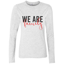 We Are Family Women's Long Sleeve Shirt | Adoption Gifts, Clothing & Apparel