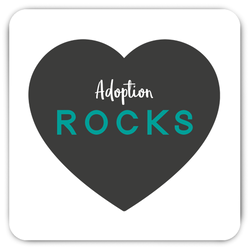 adoption rocks magnet