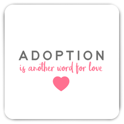 Adoption is Another Word for Love Magnet | Adoption Gifts, Decor