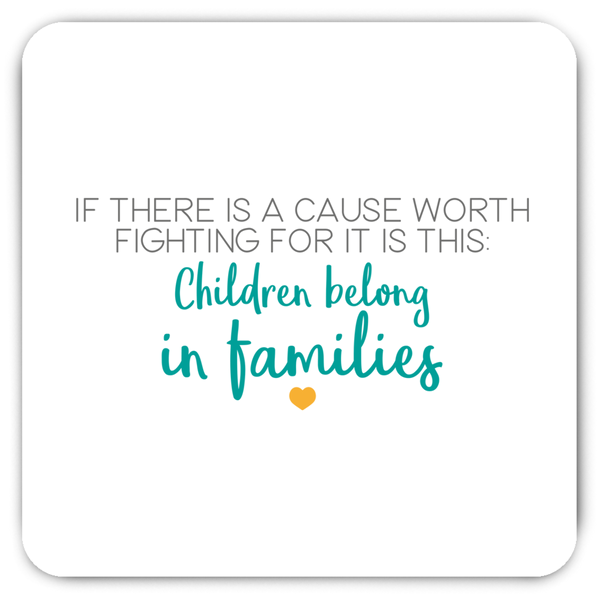 Children Belong in Families Magnet | Adoption Gifts, Decor