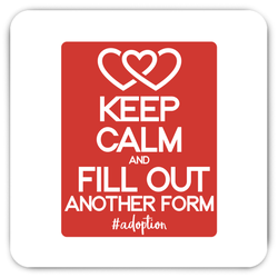Keep Calm and Fill Out Another Form #adoption Magnet | Adoption Gifts, Decor