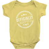 OFFICIALLY ADOPTED ONESIE | ADOPTION GIFTS, CLOTHING & APPAREL