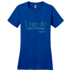 I Can Do Hard Things Women's T-Shirt | Adoption Gifts, Clothing & Apparel