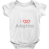 I Love Adoption Onesie | Adoption Gifts, Clothing & Apparel