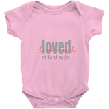 Loved at First Sight Onesie | Adoption Gifts, Clothing & Apparel