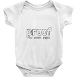 Proof God Answers Prayers Onesie | Adoption Gifts, Clothing & Apparel