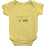 The Adoption Took Time, the Love Arrived Instantly Onesie | Adoption Gifts, Clothing & Apparel