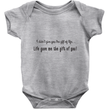 Life Gave Me the Gift of You Onesie | Adoption Gifts, Clothing & Apparel