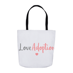 Love Adoption Tote Bag | Adoption Gifts, Women's Apparel & Accessories