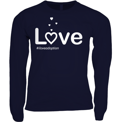 Love Women's Long Sleeve Shirt | Adoption Gifts, Clothing & Apparel