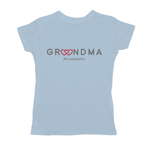 GRANDMA WOMEN'S T-SHIRT | ADOPTION GIFTS, CLOTHING & APPAREL