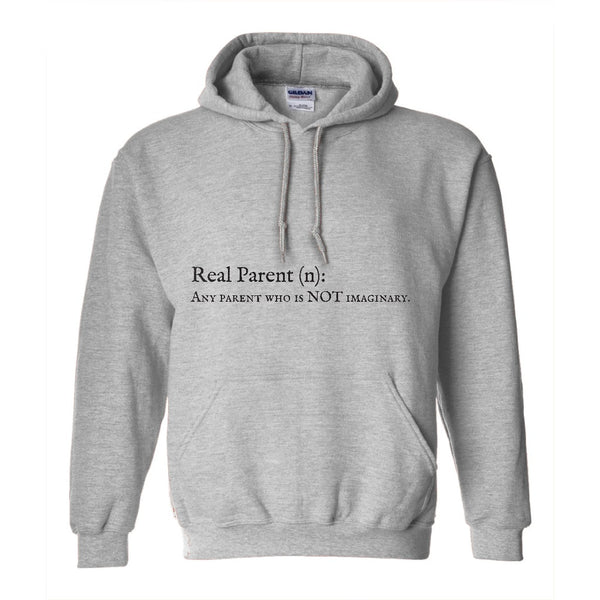 Real Parent Men's Pullover Hoodie | Adoption Gifts, Clothing & Apparel