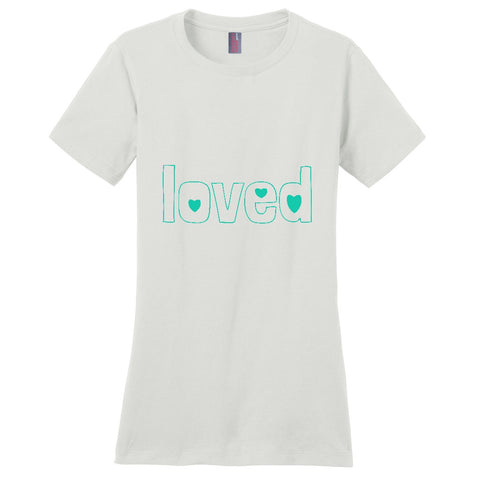 Loved Women's T-Shirt | Adoption Gifts, Clothing & Apparel