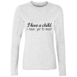 Long sleeve adoption shirt