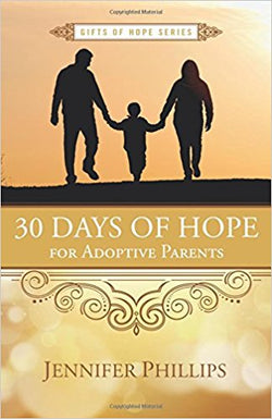 30 Days of Hope for Adoptive Parents | Adoption Gifts, Adoption Books