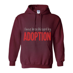 I Have Been Blessed by Adoption Men's Pullover Hoodie | Adoption Gifts, Clothing & Apparel
