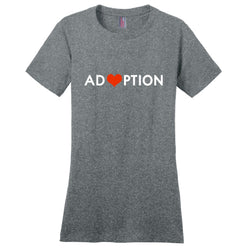grey adoption shirt