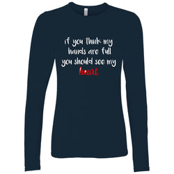 navy long sleeve adoption shirt/adoption gifts