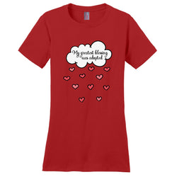My Greatest Blessing Was Adopted Women's T-Shirt | Adoption Gifts, Clothing & Apparel