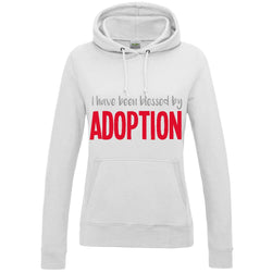 I Have Been Blessed By Adoption Women's Pullover Hoodie | Adoption Gifts, Clothing & Apparel