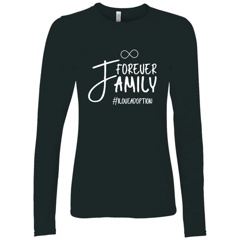 forever family long sleeve adoption shirt