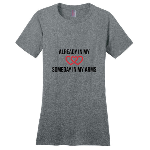 Adoption Gift, Adoption T-Shirt -- Someday in my arms