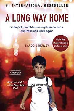 A Long Way Home (Saroo Brierley) | Adoption Gifts, Adoption Books