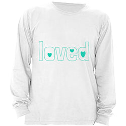 Loved -- Adoption Gift, Adoption Shirt, Long Sleeve Shirt, Men's