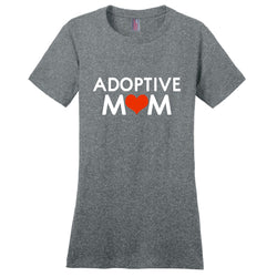 grey adoptive mom shirt
