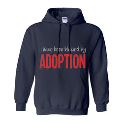 adoption blessed me hoodie