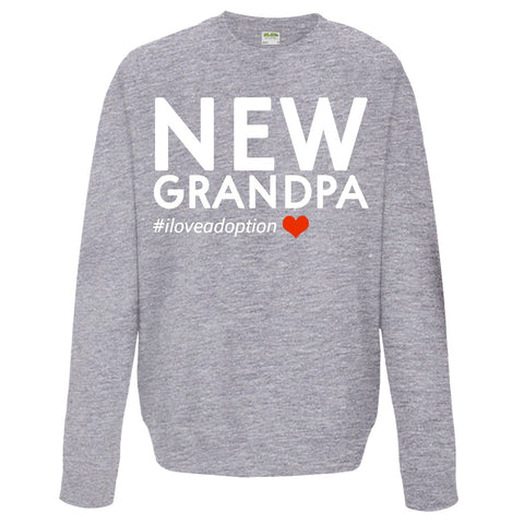 New Grandpa Sweatshirt | Adoption Gifts, Clothing & Apparel