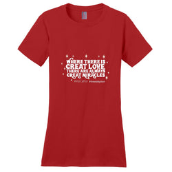 Where There Is Great Love There Are Always Great Miracles Women's T-Shirt | Adoption Gifts, Clothing & Apparel