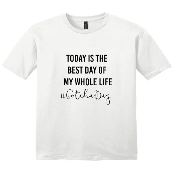 Gotcha Day Women's T-Shirt | Adoption Gifts, Clothing & Apparel