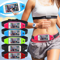 Universal Waterproof Sport GYM Waist Bag Phone Case for iPhone 7 6 6S Plus SE 5G 5C 4G Outdoor Workout Running Pouch Accessories - TheUrbanSky