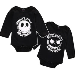 Halloween long sleeve Jumpers Rompers Playsuit Outfits baby Clothes