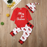 Lovely Kids Baby Girl Boy My First Christmas Letter