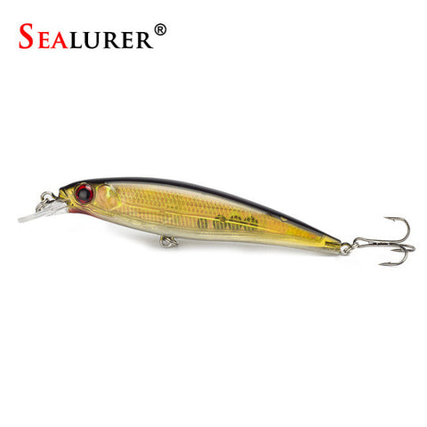 1PCS Laser Minnow Fishing Lure 11CM 13G pesca hooks fish wobbler tackle crankbait artificial japan hard bait swimbait - TheUrbanSky